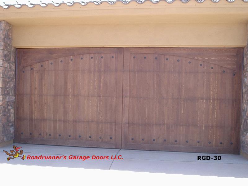 Roadrunner S Garage Doors Llc Custom Wood Doors